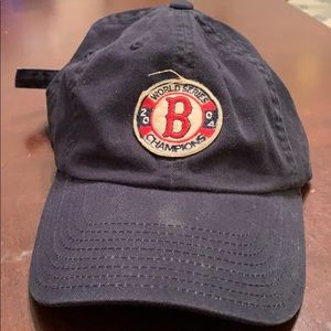Red Sox 2004 Championship dad hat